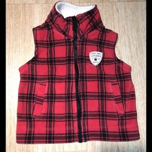 Carter's Little Trail Explorer Fleece Vest